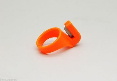 1 Pcs Line Cutter Ring Knife Cutter Sew Adjustable Fit FINGER CUT String Yam