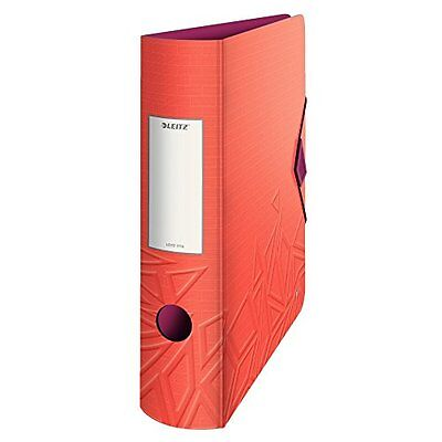 Leitz 11160024 180° Active Urban Chic Lever Arch File - Red Berry