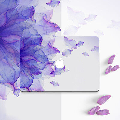 Laptop Phantom Purple Decal Sticker Full Skin Cover for Macbook Air Pro Retina
