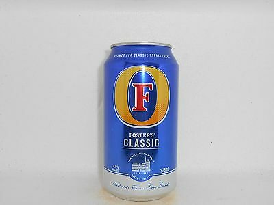 Fosters Classic Empty Beer Can