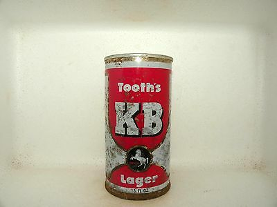 Kb Lager 13 Fl Oz Straight Steel Empty Beer Can