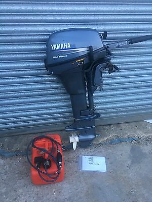 Yamaha 8hp ( 10hp ) Longshaft Outboard Engine For Boat /  Auxiliary