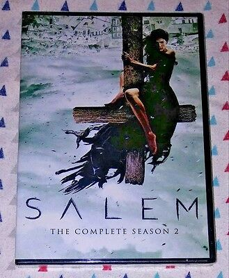 Brand New! Salem: The Complete Season 2. 3 Disc/dvd Set. Ships Free
