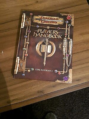 D&D Dungeons and Dragons 3RD Edition Players Handbook