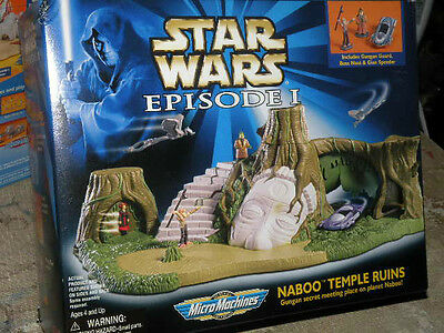 Naboo Temple Ruins Star Wars Episode 1 Micro Machines Sealed Box