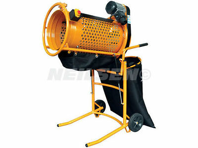 CT0611 360w Electric Rotary Sieve. Perfect for Stone, Grit, Compost and Topsoil