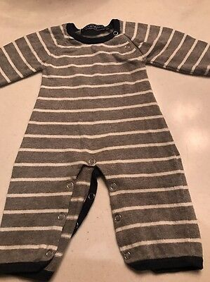 TOOBY DOO BABY BOY COTTON/CASHMERE BLEND ONE PIECE SIZE 0-3 Mos