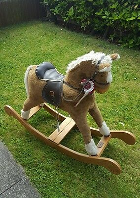 Preowned Mamas and papas rocking horse