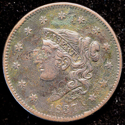 1837 N-17 Large Cent