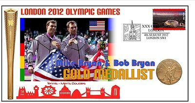 Mike & Bob Bryan 2012 Olympic Tennis Gold Medal Cover