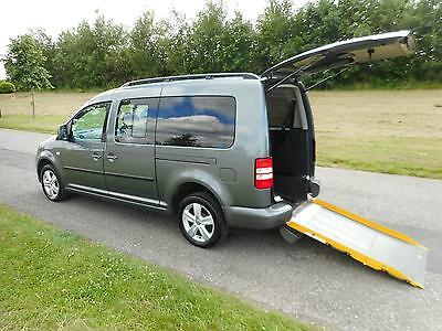 2012 Volkswagen Caddy Maxi Life 1.6 Tdi WHEELCHAIR DISABLED ACCESSIBLE ADAPTED