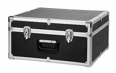 Deluxe Accordion Case For 72 Bass Instrument Lockable Metal Exterior Carry Bag