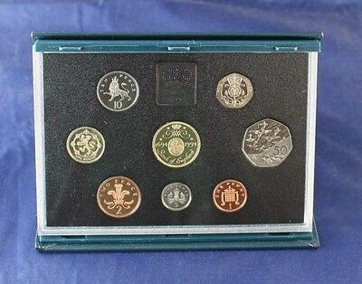 1994 Royal Mint 8 coin Proof Set in case with COA   (A10/70)