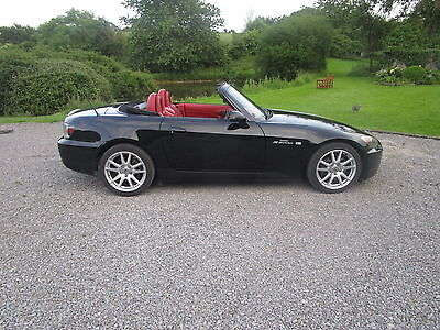 Honda S2000 Gt Black With Red Int - Hard Top -  Service/mot Last Month
