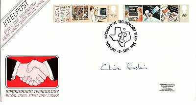 "Clive Sinclair ""Information Technology"" FDC 1982"