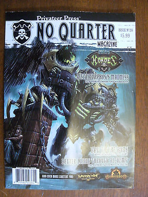 2008 No Quarter Magazine Privateer Press Issue No 20