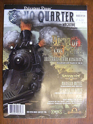2009 No Quarter Magazine Privateer Press Issue No 24