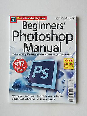 BDM's i-Tech Special BEGINNERS PHOTOSHOP MANUAL 17 -  Specialist Tutorials  NEW