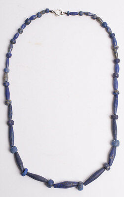 Ancient Roman Lapis Lzuli Beads Necklace c.1st cent AD.