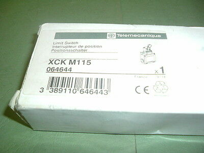 Telemecanique.................. Xck M115 Limit Switch Roller Lever  New Packaged