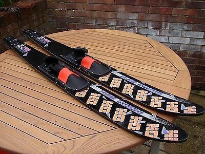 "Combo 67"" Waterskis 1701mm 70 Sport Flex With bindings Global Shipping"