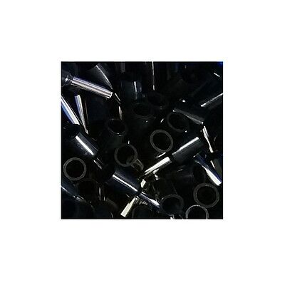 Wire Ferrules 1,5mm ² insulated black - 100 Piece