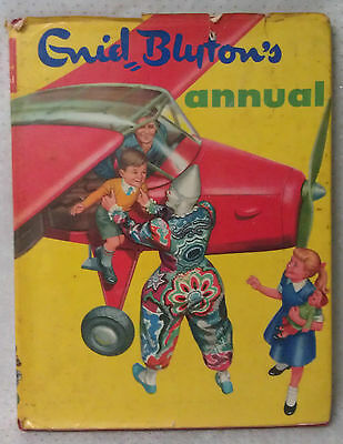 ENID BLYTON's ANNUAL circa 1960 Hardcover with dustjacket