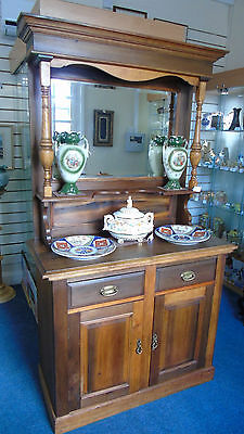 Edwardian Mirror backed sideboard