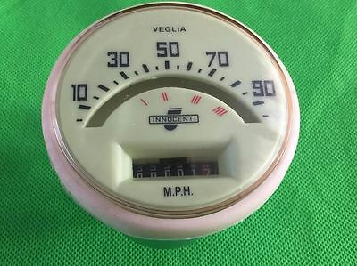Lambretta LI TV 125 150 175 Series 1 & 2 90 MPH Speedo (Italian Cable Size)