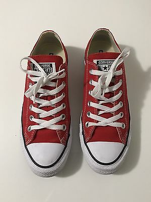 Converse All Star Red Size 8 Women's Sneakers