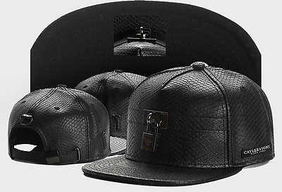 Cayler And Sons Snapback Flat Peak Cap Black 2