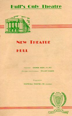 """""""Gigi"""" 1959 Hull New Theatre SIGNED BY ENTIRE CAST"""