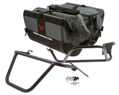 Saddlebag Set Dakar Black. Triumph Tiger 1050 Sport (13-).