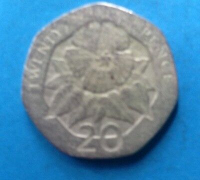 Very colkectible 1998 St Helena Ascension 20p coin