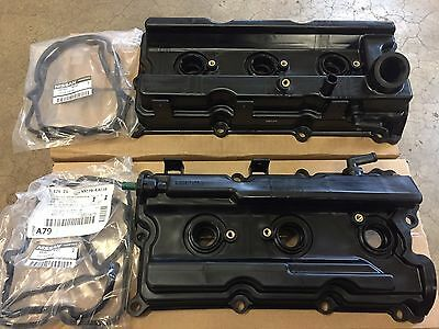 New Oem Nissan Frontier Xterra Pathfinder Valve Covers And Gaskets (Set)