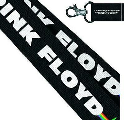 Pink Floyd - Dark Side Of The Moon Lanyard / Neck Cord New & Official With Tag