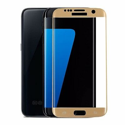 For Samsung Galaxy S7 Edge 3D Curved Tempered Glass Screen Protector Slik Film