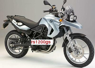 Manuale Officina BMW F 650 GS  All Models Repair Taller Atelier Reparatur
