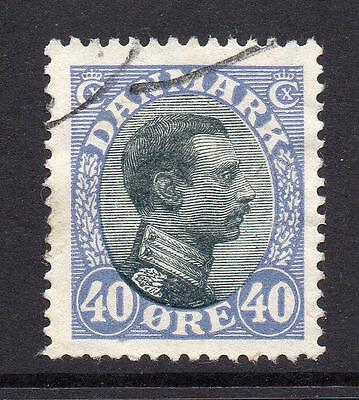 Denmark 40 Ore Stamp c1913-28 Used