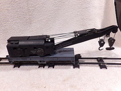 AMERICAN FLYER S GAUGE No.944 INDUSTRIAL BROWNHOIST CRANE