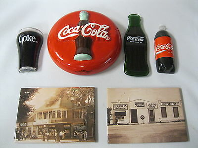 Coca Cola Refrigerator Magnets Six Different