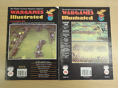 2 issues of Wargames Illustrated