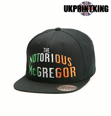Conor Mcgregor The Notorious Snapback Hat Cap Embroidered Rapper Caps Hats