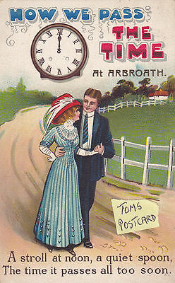 Arbroath  card - How We Pass the Time
