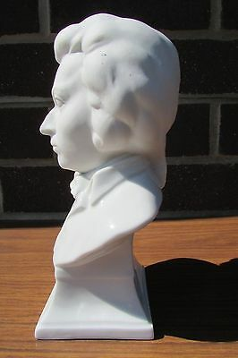 Mozart bust by Herend