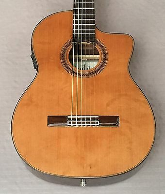Cordoba C7-CE CD Acoustic-Electric Nylon String Classical Guitar In Natural