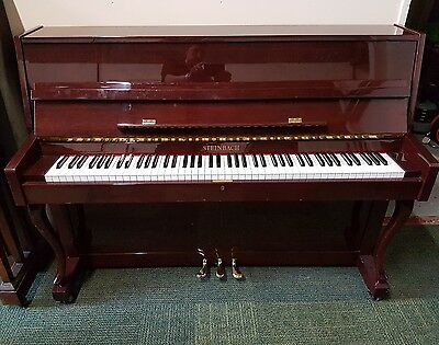 **CAN DELIVER** STEINBACH GLOSSY MODERN UPRIGHT PIANO -The Little Piano Store