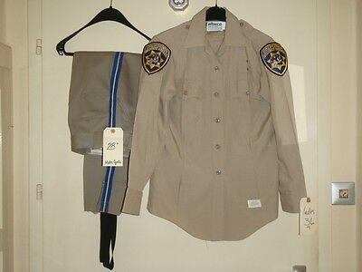 CHiPs - SCREEN USED COSTUME OF FEMALE CHARACTER OFFICER KATHY LINAHAN