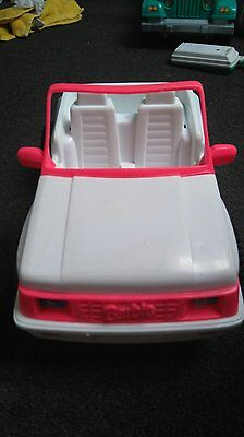 Barbie Classic Jeep White (Incuding FREE postage)