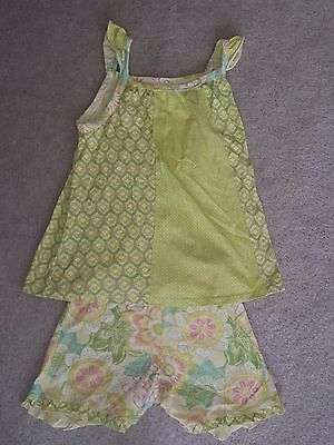 *Girls Naartjie Kids Summer Spring Outfit Top Shorts Size 8 XXL*